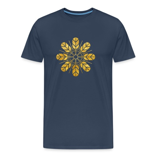 Inoue clan kamon in gold - Men's Premium T-Shirt