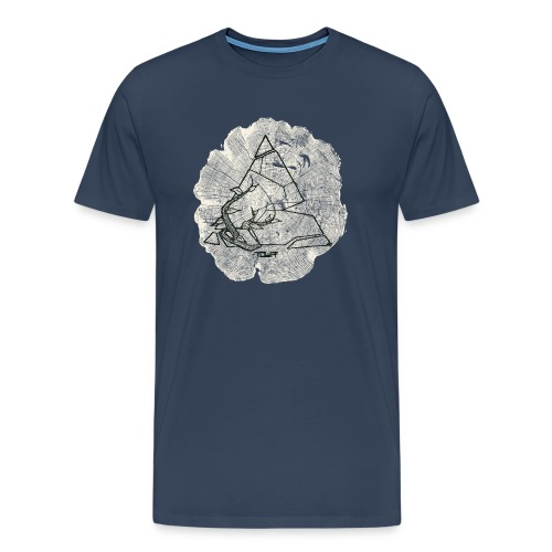 nature over concrete - Männer Premium T-Shirt