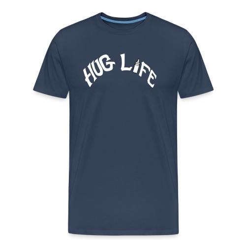 White Hug Life - Men's Premium T-Shirt