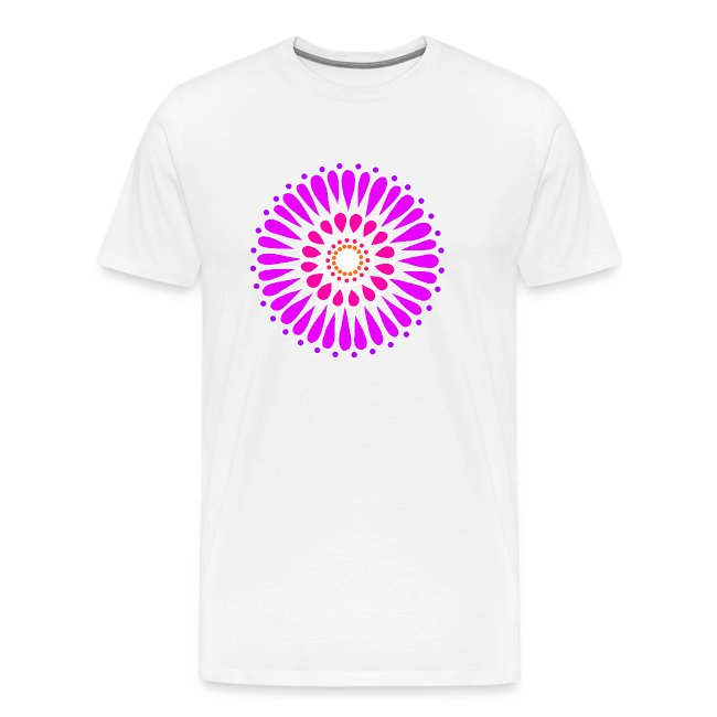 Purple Double Sunflower Mandala