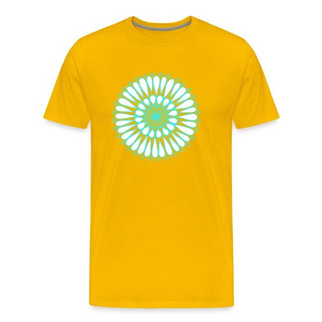 Ice Sunflower Mandala