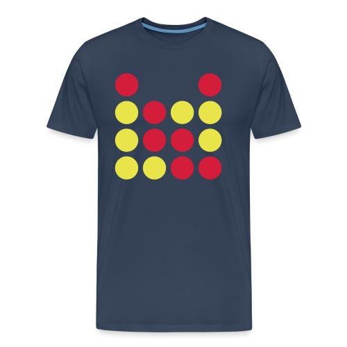 Vier gewinnt - Männer Premium T-Shirt