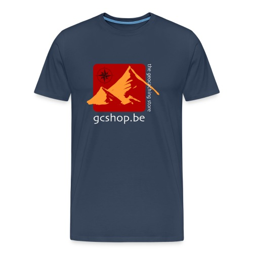 logo-big - Mannen Premium T-shirt