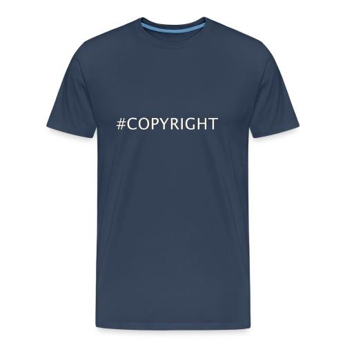 #COPYRIGHT - Männer Premium T-Shirt