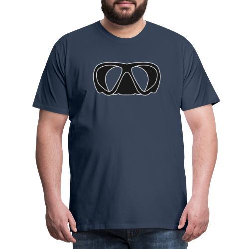 Tauchermaske - Männer Premium T-Shirt