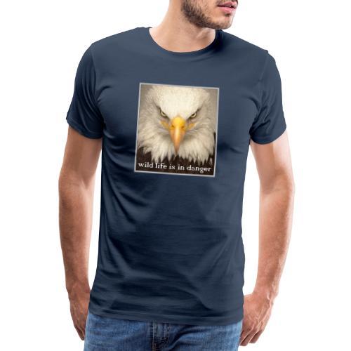 wild life is in danger shirt - Männer Premium T-Shirt