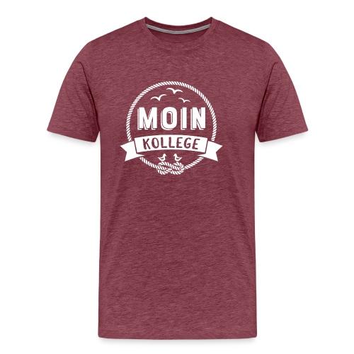 Moin Kollege Geschenk für Strandliebhaber - Männer Premium T-Shirt