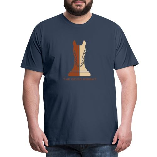 The Good Knight - Premium T-skjorte for menn