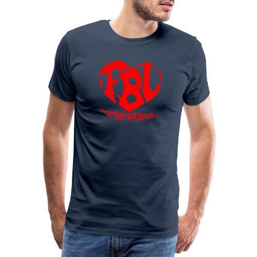 Coeur de Fontainebleau - T-shirt Premium Homme