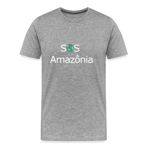 SOS the Amazon forest SAVE THE AMAZONAS - T-shirt Premium Homme