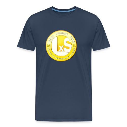 LxS Clan Logo - Premium T-skjorte for menn