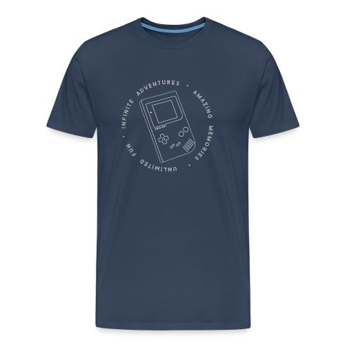 DMG-001 - Mannen Premium T-shirt