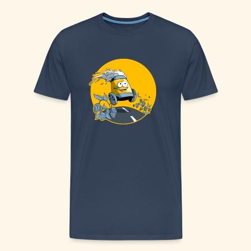 Bière en vadrouille - T-shirt Premium Homme