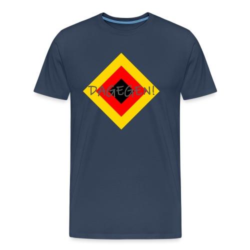 Anti-Raute - Männer Premium T-Shirt