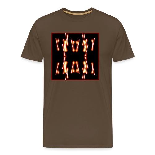 Lichtertanz #4 - Männer Premium T-Shirt