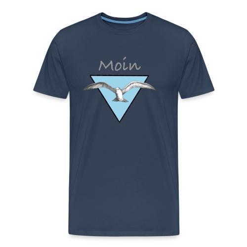 Moin Möwe - Männer Premium T-Shirt