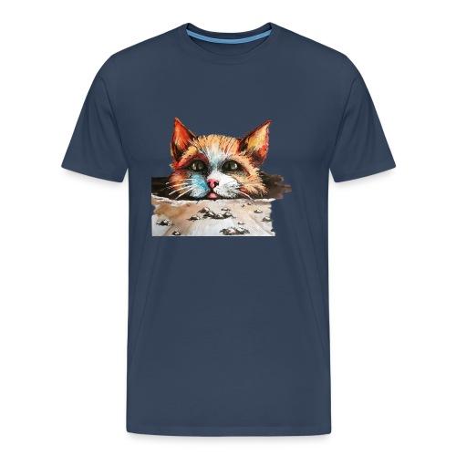 Roter Kater - Männer Premium T-Shirt