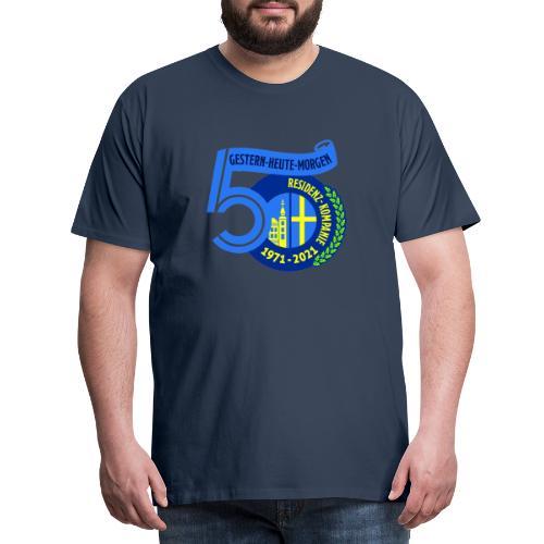 50-Jahre Residenz-Kompanie - Männer Premium T-Shirt