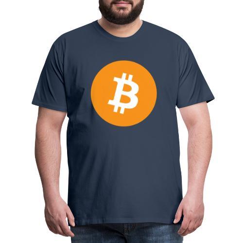 Bitcoin Merch - Herre premium T-shirt