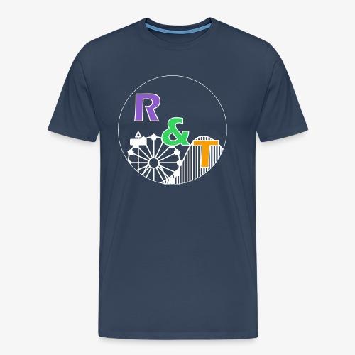 *Limited Edition* Robin & Thomas Merch Wit - Mannen Premium T-shirt
