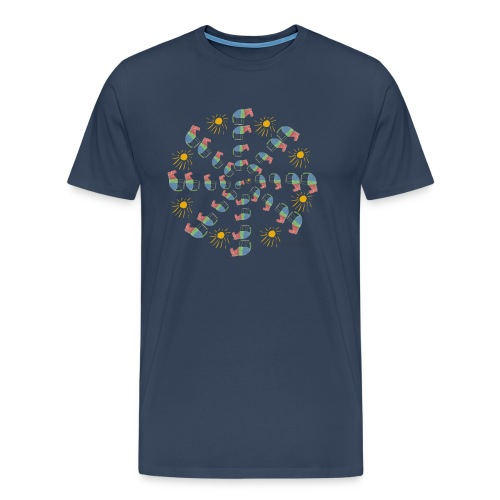 Lena Horse Circle - Männer Premium T-Shirt