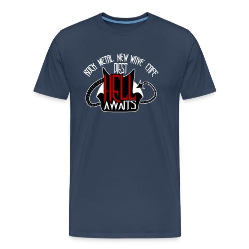 Hell Awaits - Mannen Premium T-shirt