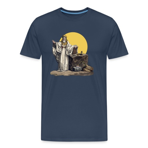 Druido (Sole Luna) - Maglietta Premium da uomo