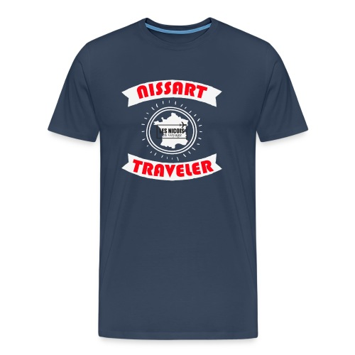 NISSART TRAVELER - T-shirt Premium Homme