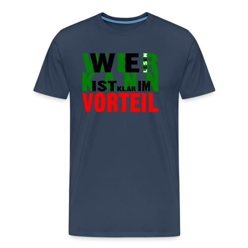 Text 001 - Männer Premium T-Shirt