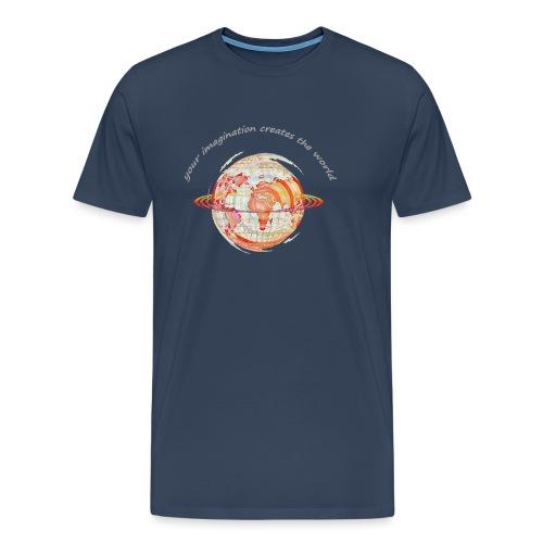 imagine_hinten_aufHell_ko - Männer Premium T-Shirt