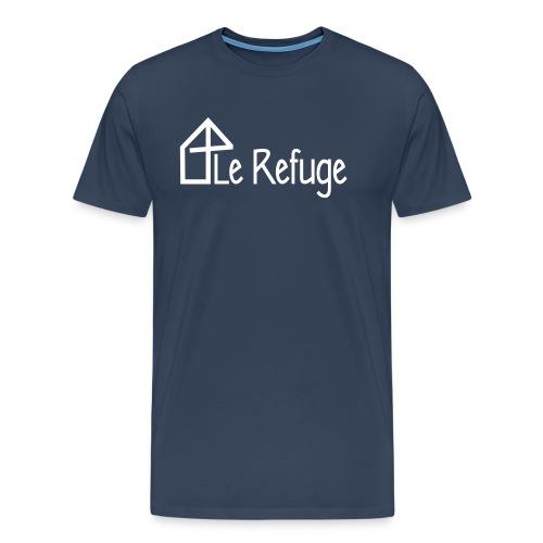 LOGO LE REFUGE complet - T-shirt Premium Homme