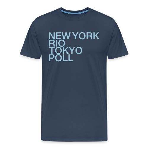 NY_RIO_PollEnd - Männer Premium T-Shirt