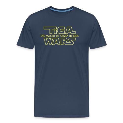 Vorne Einsendung Spreadsh - Männer Premium T-Shirt