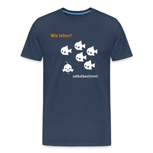 cucu - Fische - Männer Premium T-Shirt