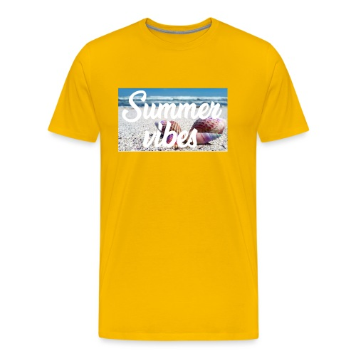 Summervibes - Männer Premium T-Shirt