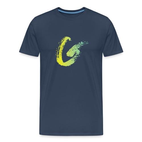 FIN Greco Logo 21 png - Men's Premium T-Shirt