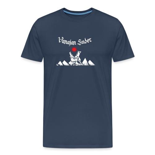 Auringonsyöjä - Miesten premium t-paita