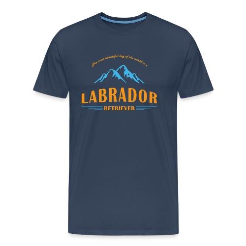 Labrador Mountain - Männer Premium T-Shirt
