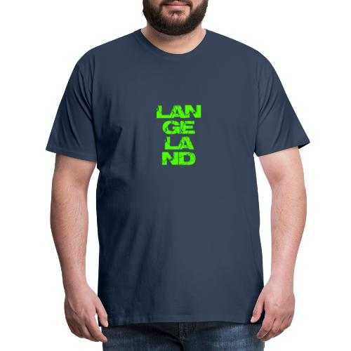 Langeland - Männer Premium T-Shirt