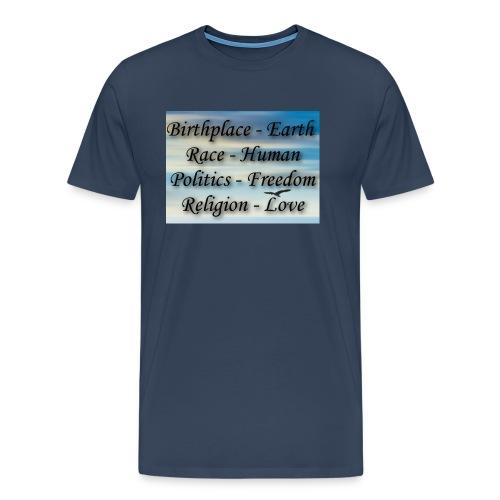 I Choose peace - Men's Premium T-Shirt