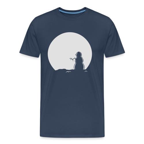Snowman Hoody - Men's Premium T-Shirt