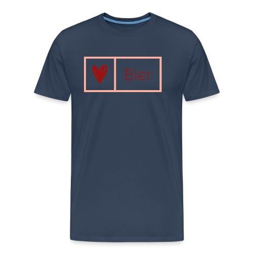 Bierlarge - Männer Premium T-Shirt