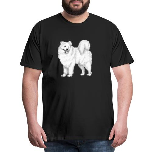 samoyed - Herre premium T-shirt