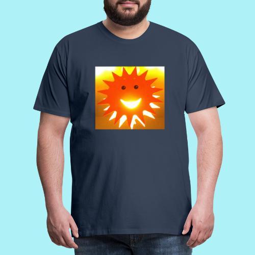 Soleil Souriant - T-shirt Premium Homme