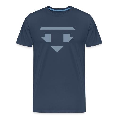 Twanneman logo Reverse - Mannen Premium T-shirt