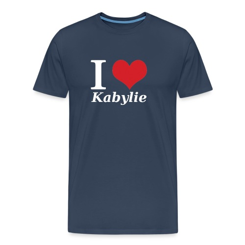 I Love Kabylie Blanc - T-shirt Premium Homme