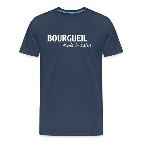 BourgueilMadeInLoireBlanc - T-shirt Premium Homme