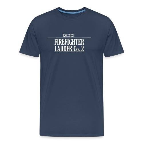 Firefighter Ladder Co. 2 - Herre premium T-shirt