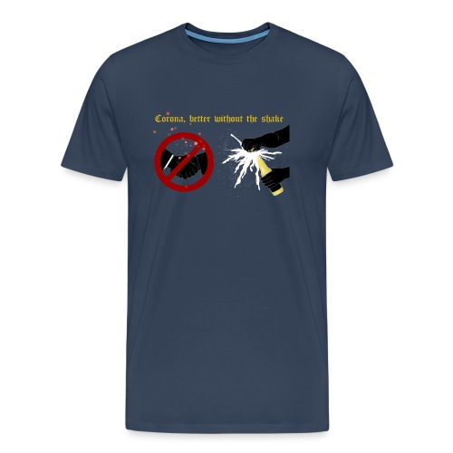 corona - Premium-T-shirt herr