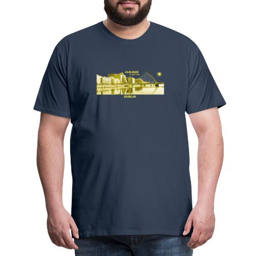 Summer Dublin City Irland Ireland Sommer Sonne - Männer Premium T-Shirt
